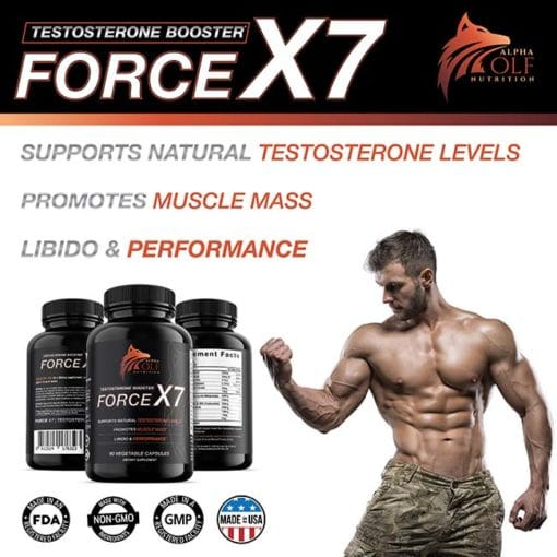 Force X7 Flex Testosterone Booster