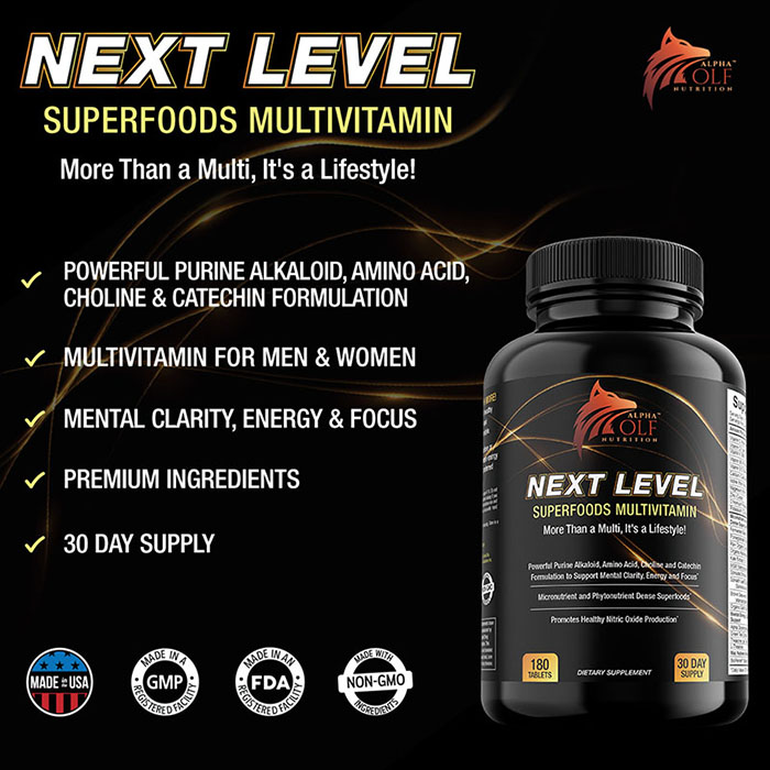 Next Level Multivitamin by Alpha Wolf Nutrition