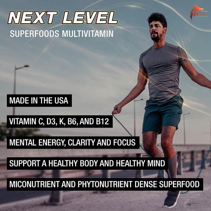 Next Level Superfoods Multivitamin