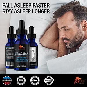 Glutathione in Sandman Sleep Aid